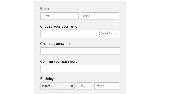 نحوه ساخت حساب کاربری جیمیل