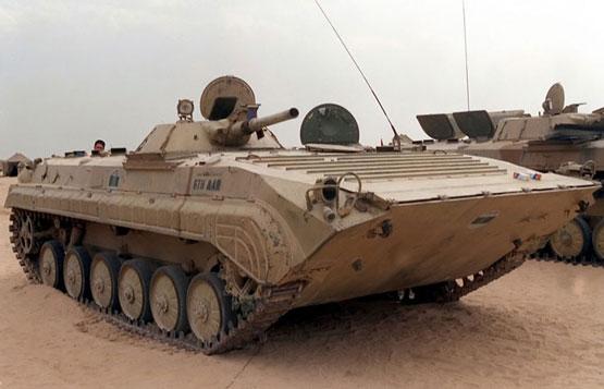 6. خودروی جنگی پیاده نظام BMP-1