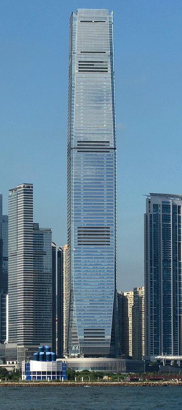 10. اینترنشنال کامرس سنتر در هنگ کنگ، چین