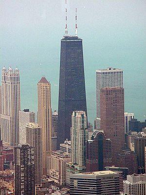 12. مرکز جان هنکاک در شیکاگو، ایالات متحده