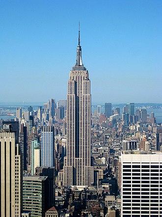 16. ساختمان امپایر استیت در نیویورک، ایالات متحده