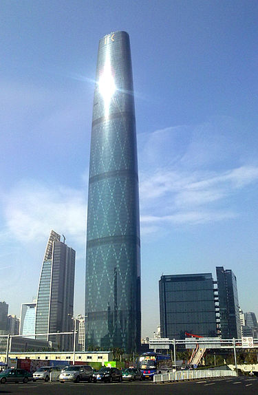 17. مرکز تجارت جهانی گوانگژو در گوانگژو، چین
