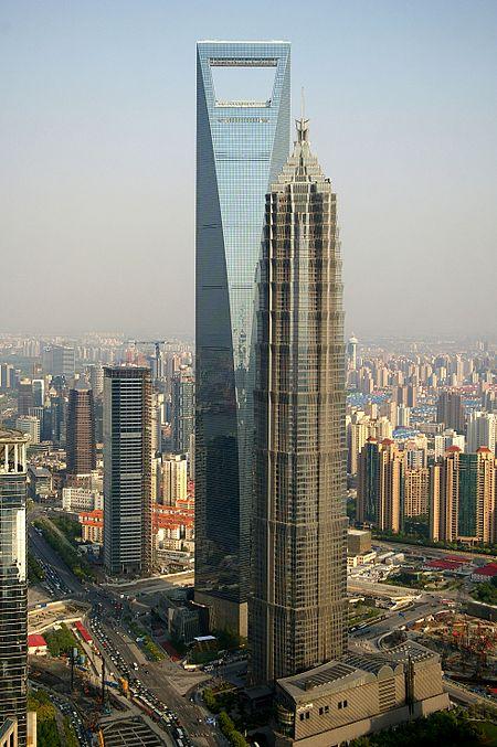 9. مرکز مالی جهانی شانگهای در شانگهای، چین