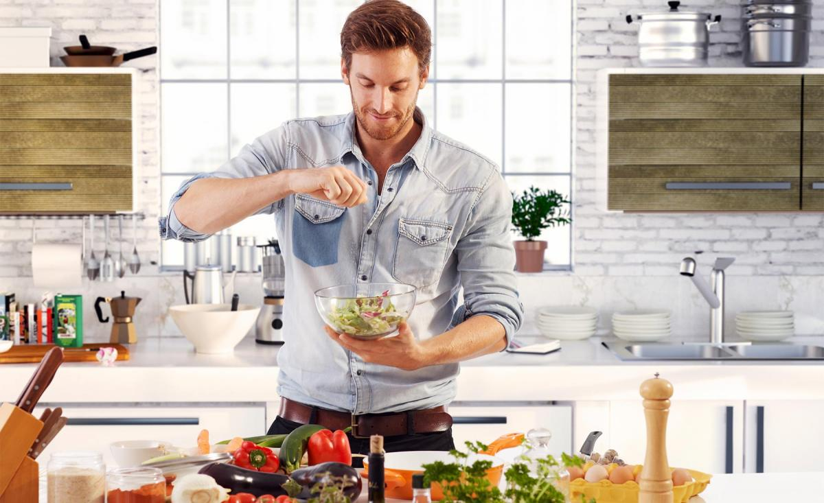 آشپزی از راه های افزایش هوش