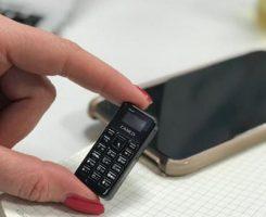 کوچکترین موبایل جهان با نام زانکو تاینی تی ۱