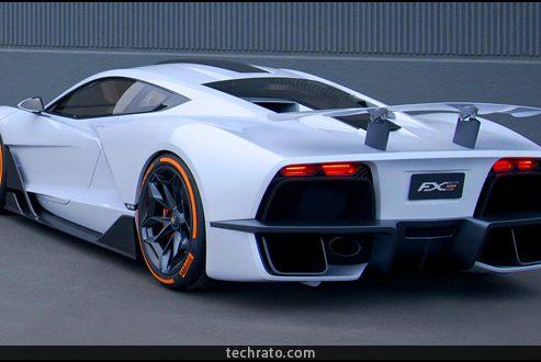 آریا FXE با قدرت ۱۱۵۰ اسب بخار؛ ابر خودرویی ۴ میلیارد تومانی