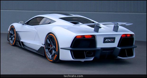 آریا FXE با قدرت 1150 اسب بخار؛ ابر خودرویی 4 میلیارد تومانی