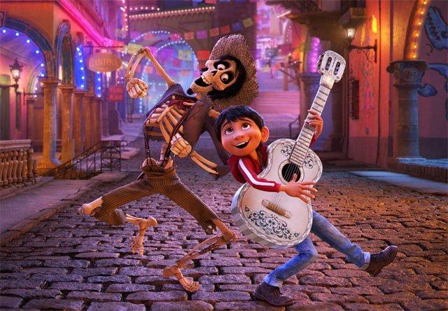 Coco یکی از بهترین فیلم های 2017