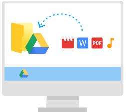 انتقال اطلاعات به گوگل درایو