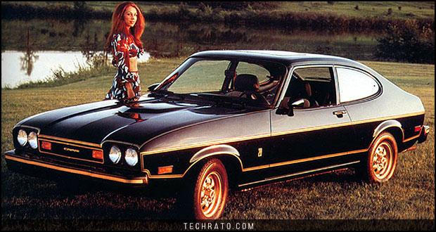 تاریخچه خودروهای هات هچ - فورد کاپری