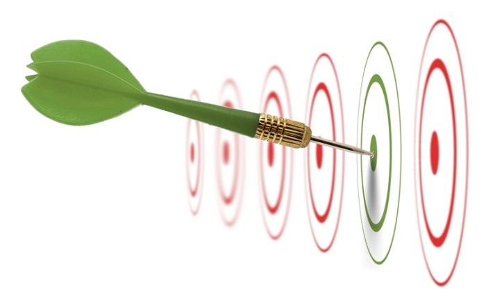 2. تلاش برای رسیدن به اهداف مشخص