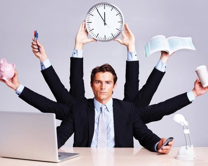 7. بیشترین استفاده از زمان برای بهترین کارآیی
