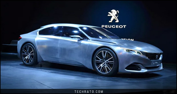 خودروی مفهومی پژو اگزالت