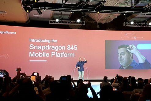 معرفی اسنپدراگون ۸۴۵ برای پلتفرم موبایل توسط کوالکام انجام شد