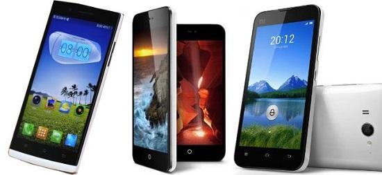 معممولا بهترین گوشی های چینی با نمایشگرهای 5.5 اینچی یا بزرگتر در اختیار کاربران قرار میگیرند
