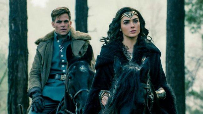 گل گدوت و کریس پاین در Wonder Woman: یکی از بهترین فیلم های 2017