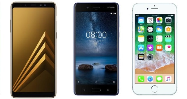 مقایسه گوشیهای وان پلاس 5، گلکسی ای 8 پلاس 2018 و آیفون 6 پلاس ؛ کدام گوشی را بخریم؟