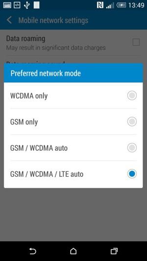 تنظیمات شبکه فور جی