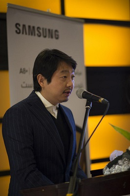 کیت شین، مدیر ارشد بخش موبایل سامسونگ