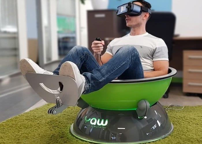 شبیه ساز حرکتی واقعیت مجازی