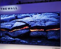 رونمایی سامسونگ از تلویزیون ۱۴۶ اینچی به نام The Wall در نمایشگاه CES 2018