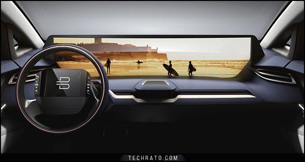 بایتون کانسپت ؛ خودروی مفهومی و تمام الکتریکی هوشمند چینی