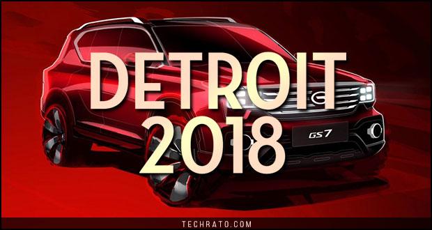 مروری بر سواریهای جدید در نمایشگاه خودروی دیترویت ۲۰۱۸