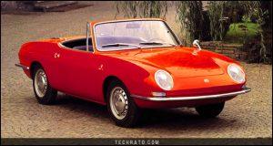 پرفروشترین خودروهای رودستر تاریخ : فیات 850 اسپایدر