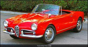 پرفروشترین خودروهای رودستر تاریخ : آلفارومئو جولیتا