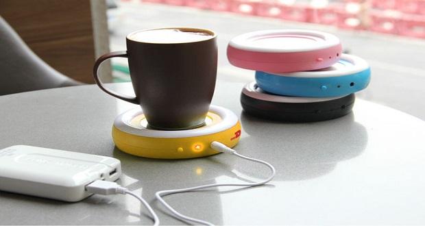 ۱۰ گجت گرمایشی کاربردی در فصل زمستان ؛ فنجان چای خود را با پورت USB گرم کنید !