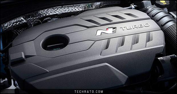 موتور هیوندای i30N مدل سال 2018 میلادی