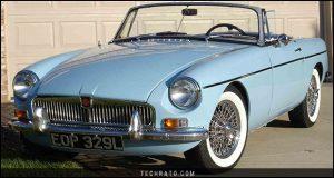 پرفروشترین خودروهای رودستر تاریخ : ام جی B