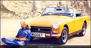 پرفروشترین خودروهای رودستر تاریخ : ام جی Midget