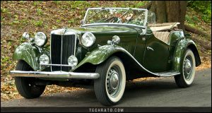 پرفروشترین خودروهای رودستر تاریخ : ام جی سری T