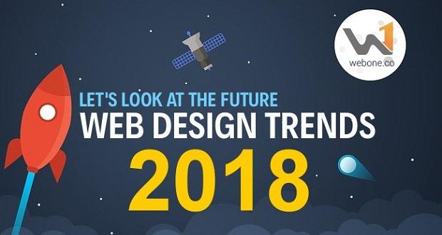 ترندهای طراحی سایت در سال ۲۰۱۸