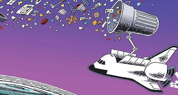 نابودی زبالههای فضایی