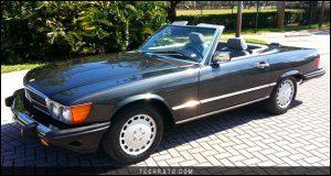 پرفروشترین خودروهای رودستر تاریخ : مرسدس بنز کلاس SL