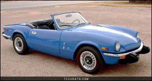 پرفروشترین خودروهای رودستر تاریخ : تریومف اسپیت فایر