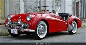 پرفروشترین خودروهای رودستر تاریخ : تریومف TR3