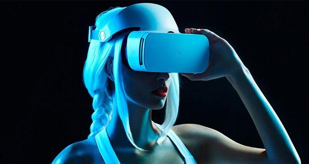 هدست واقعیت مجازی مستقل شیائومی به همراه اکولوس گو در نمایشگاه CES 2018