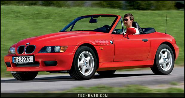 پرفروشترین خودروهای رودستر تاریخ : ب ام و Z3