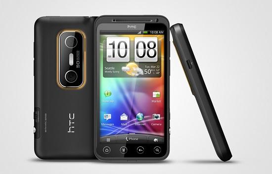 اچ تی سی اوو 3 دی (HTC EVO 3D)