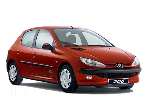 پژو 206 از پرفروش ترین خودروهای داخلی