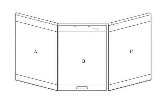 کانسپت گوشی جدید ال جی با سه صفحه نمایش