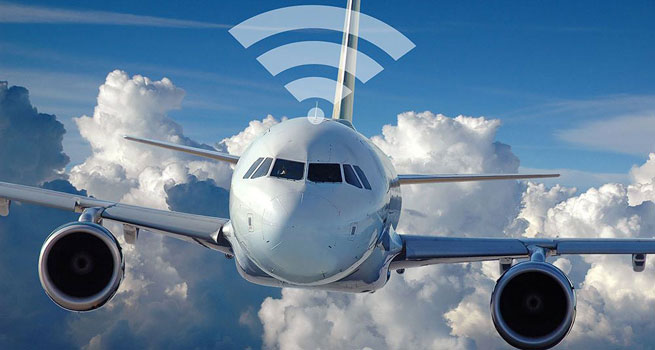 ارائه اینترنت ماهواره ای در هواپیماها؛ اینترنت ارزان و با کیفیت