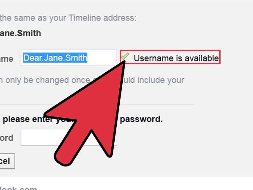 ۹. منتظر بمانید تا تیک سبز رنگ در سمت راست کادر ظاهر شود. این تیک نشان میدهد که نام کاربری جدید در پایگاه داده ثبت نشده و شما اجازه دارید که از آن استفاده کنید.