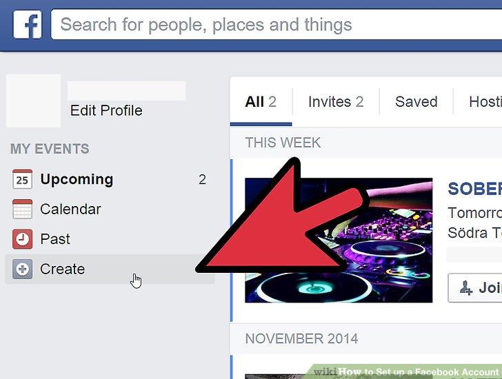 فیس بوک EVENT