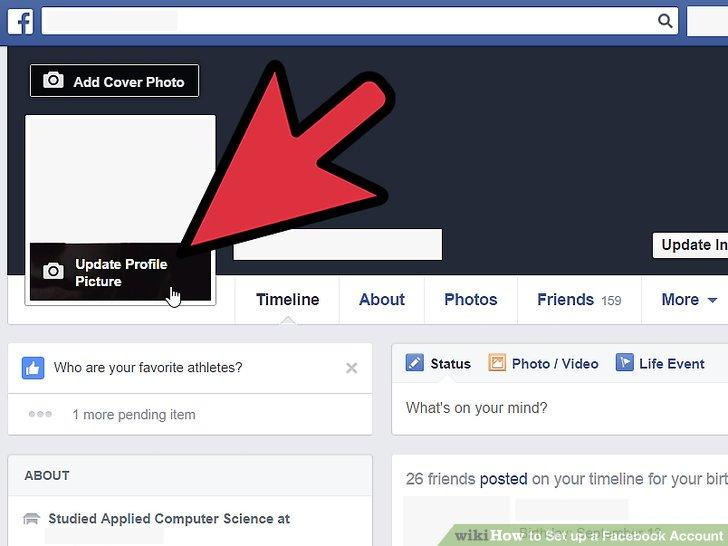 فیس بوک پروفایل