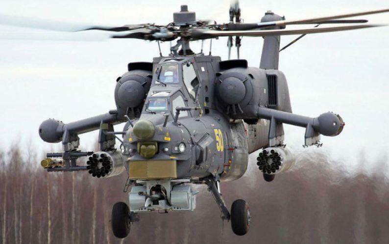 5. هلی کوپتر میل ام آی - ۲۸ هاووک (روسیه)