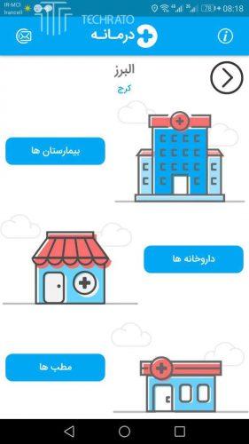 صفحه اول مراکز درمانی شهرها
